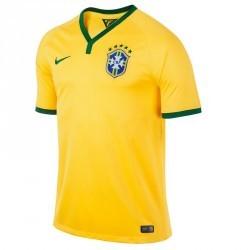 Maillot football adulte réplique Brésil jaune