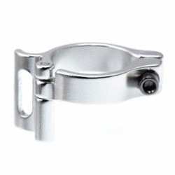 Collier dérailleur avant Aluminium Ø 28.6 mm