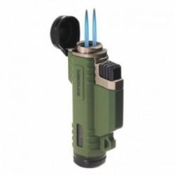 Briquet Highlander Turboflame Ranger vert
