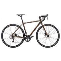 Gravel Bike Kona Rove Shimano Claris 8V 2018 Marron