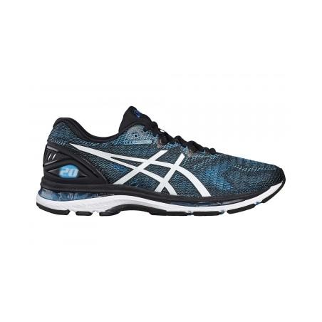 Chaussures de Running Asics Gel-Nimbus 20 Noir / Bleu