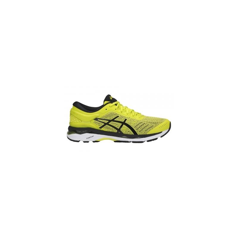 asics running jaune