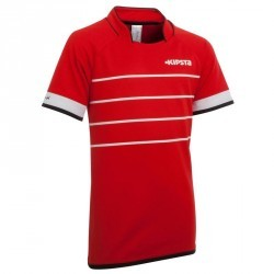 Maillot rugby enfant Full H 300 rouge