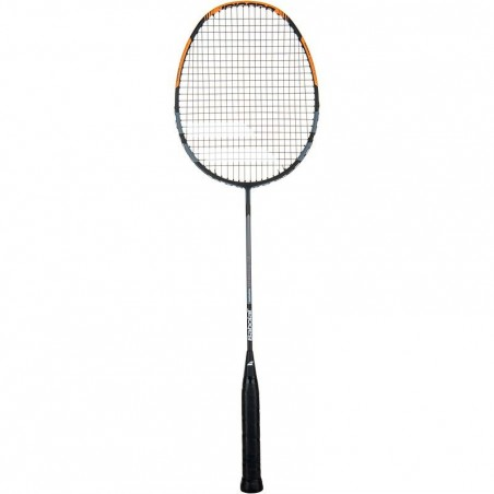 RAQUETTE DE BADMINTON SATELLITE GRAVITY 74 GRIS ORANGE