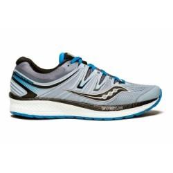 Chaussures de Running Saucony Hurricane ISO 4 Bleu / Gris