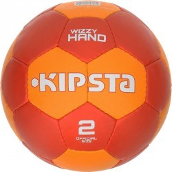 Ballon de handball adulte Wizzy Hand taille 2 rouge orange