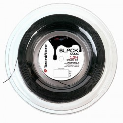BOBINE DE CORDAGE DE TENNIS BLACK CODE 200M NOIR