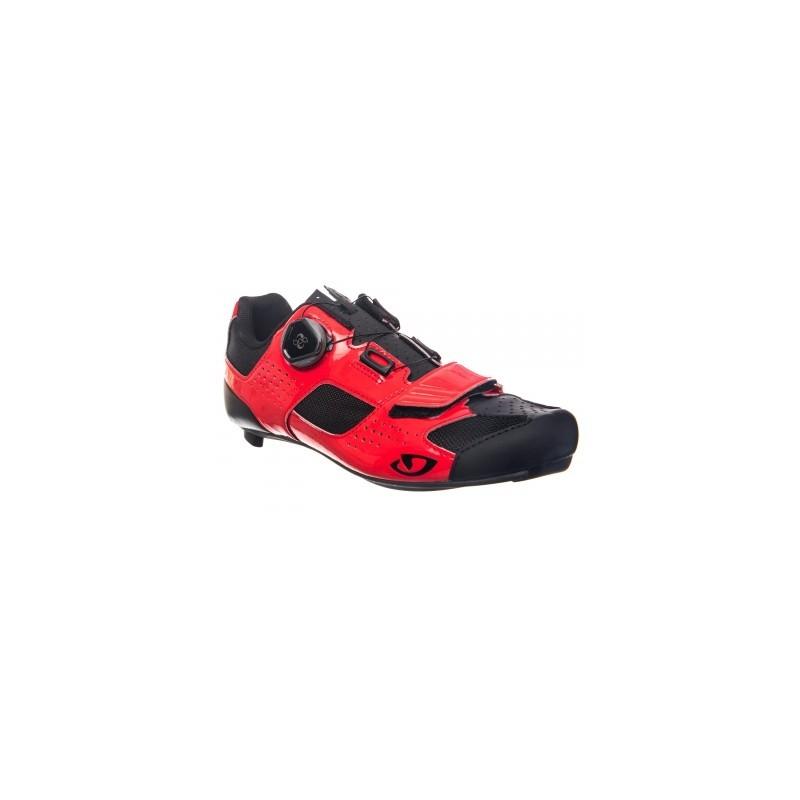e5ae15dfa07 Avis   test - Chaussures Route Giro Trans Boa Rouge Noir - GIRO - Prix