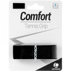 GRIP DE TENNIS CONFORT NOIR