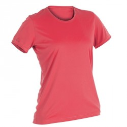 WATER T-SHIRT anti-UV Manches Courtes Femme Rose