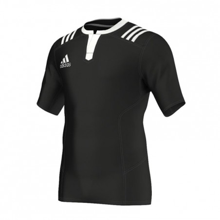Maillot rugby adulte 3S noir