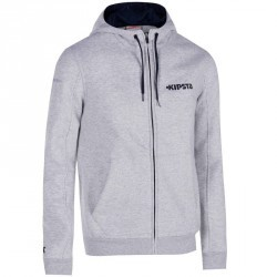 Veste basketball adulte T500 gris chiné