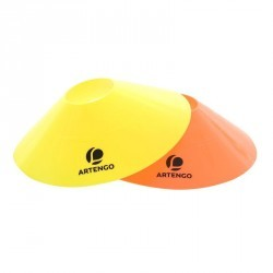 CONE DE DELIMITATION TENNIS  TA CUP COLO LOT DE 12