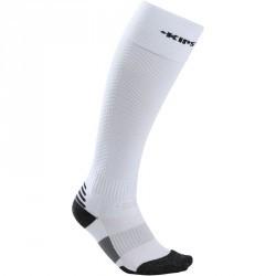 Chaussettes hautes football enfant  F700 blanc