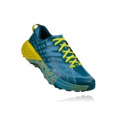 Chaussures de Trail Hoka One One Speedgoat 2 Bleu / Jaune