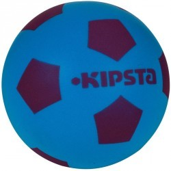 Ballon de football Foam 300 taille 4 violet bleu
