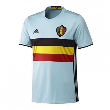 Maillot réplique football adulte Belgique extérieur 2016 bleu ciel