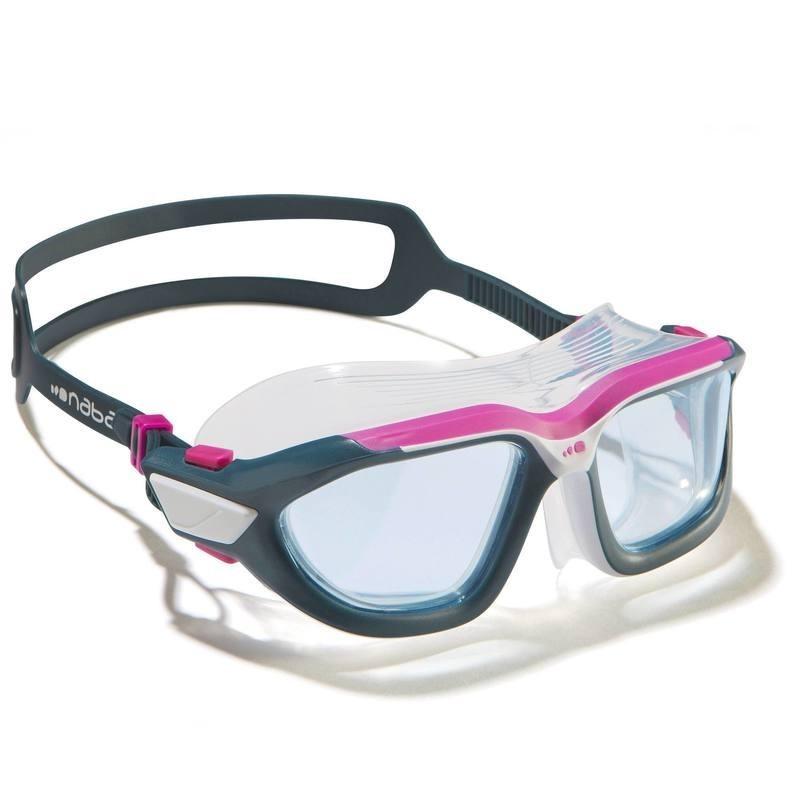 Masque de natation ACTIVE Taille S blanc rose