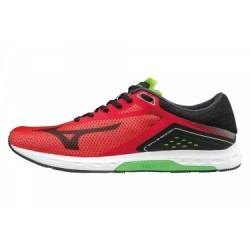 Chaussures de Running Mizuno Wave Sonic Noir / Rouge