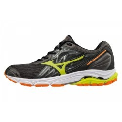 Chaussures de Running Mizuno Wave Inspire 14 Noir / Jaune / Orange