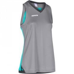 TANK Basketball femme B500 gris turquoise
