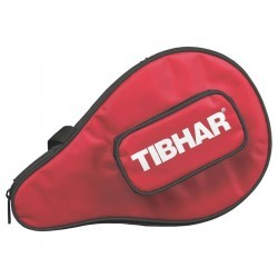 HOUSSE DE RAQUETTE DE TENNIS DE TABLE TIBHAR METRO ROUGE