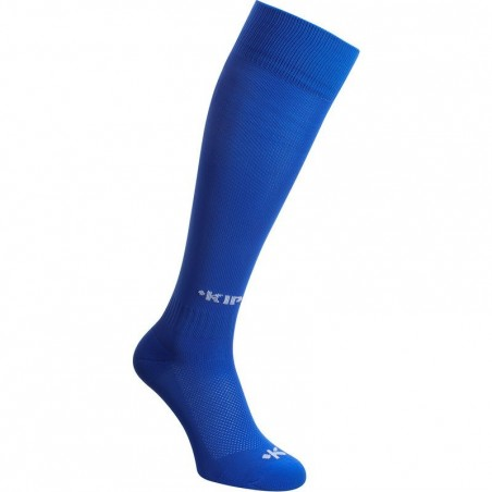 Chaussettes hautes football adulte F100 bleu