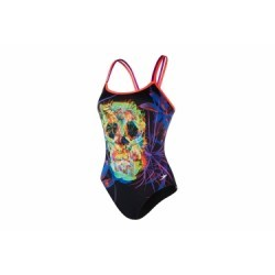 Maillot de Bain Speedo End Psych Noir Multi-couleurs