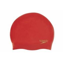 Bonnet de Bain Speedo Silicone Rouge