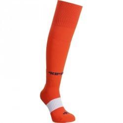 Chaussettes hautes de football enfant F500 rouges