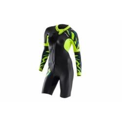 Combinaison Femme ORCA RS1 Swim Run Noir Jaune
