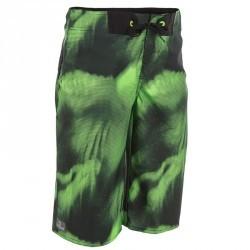 Short de bain Boardshort long garçon Lafitenia Boreal vert
