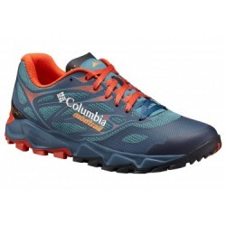 Chaussures de Running Columbia Trans Alps Fkt Bleu / Orange