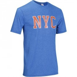 Tee Shirt Basketball homme FAST NYC bleu