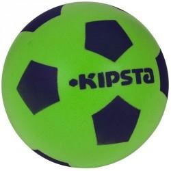 Ballon football Foam 300 taille 4 vert bleu