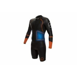 Combinaison Néoprène Zone3 SwimRun Evolution Noir Bleu Orange
