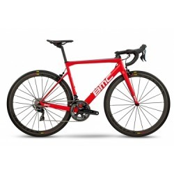 Vélo de Route BMC Teammachine SLR01 Shimano Dura Ace 11V 2018 Rouge / Blanc / Noir