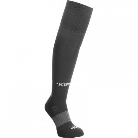 Chaussettes hautes de football enfant F500 noires