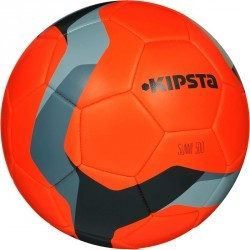 Ballon de football Sunny 500 taille 5 orange gris