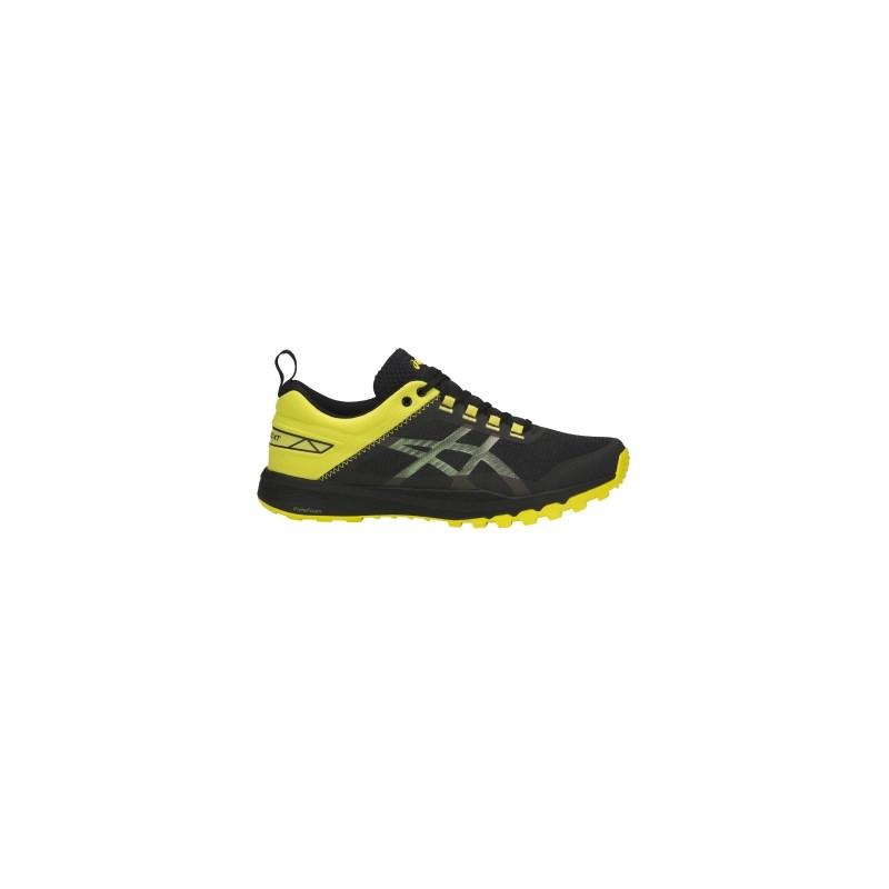 Avis   test - Chaussures de Running Asics Gecko XT Noir   Jaune ... 961d4229fe3c