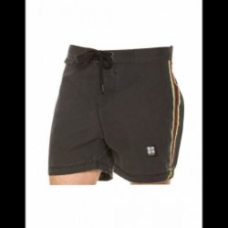 Boardshort Insight Acid Athletic Bunker - Black