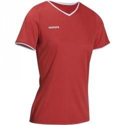 Maillot de volley-ball femme V100 rouge