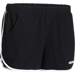 Short de volley-ball femme V100 noir blanc