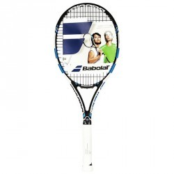 RAQUETTE DE TENNIS ADULTE PURE DRIVE TEAM BLEU
