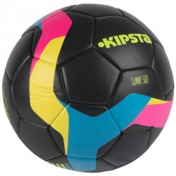 Ballon de football Sunny 500 taille 5 gris rose