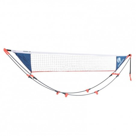 FILET DE TENNIS SPEEDNET TENNIS ROUGE 3 METRE.