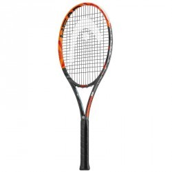 RAQUETTE DE TENNIS ADULTE RADICAL MP ORANGE NOIR