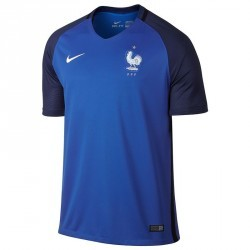 Maillot football France adulte réplique FFF bleu domicile 2016