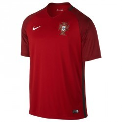 Maillot football adulte réplique Portugal domicile rouge