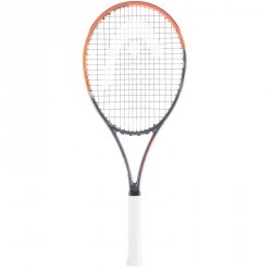 RAQUETTE DE TENNIS ADULTE RADICAL TEAM ORANGE GRIS